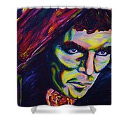 The Vampire Lestat Shower Curtain