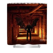 The Vampire Tunnel Shower Curtain