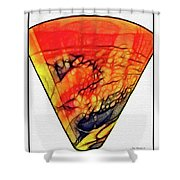 The Vase Shower Curtain