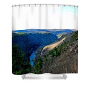 The Vast Pa Grand Canyon Shower Curtain