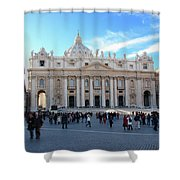The Vatican Shower Curtain
