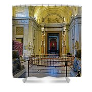 The Vatican Museum In The Vatican City Shower Curtain