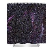 The Veil Nebula Shower Curtain