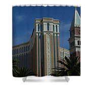 The Venetian, Las Vegas Shower Curtain
