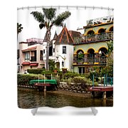 The Venice Canal Historic District Shower Curtain