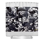 The Veritable Aspects Of Uli Arts #222 Shower Curtain
