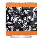 The Veritable Aspects Of Uli Arts #223 Shower Curtain