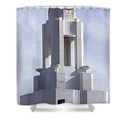 The Versailles Hotel Tower - Miami Beach Shower Curtain