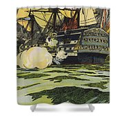 The Victory At Trafalgar  Shower Curtain