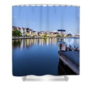 The View At Day's End  Shower Curtain