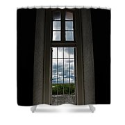 The View Form Within-color. Shower Curtain
