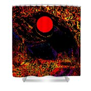 The View From John Carter's Cave Shower Curtain by Eikoni Images