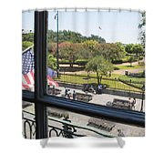 The View - Jackson Square Shower Curtain