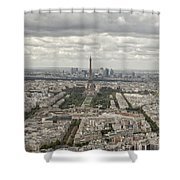 The View Of The Tower Shower Curtain