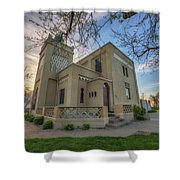 The Villa Kathrine In Quincy, Illinois Shower Curtain
