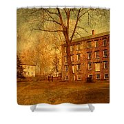 The Village - Allaire State Park Shower Curtain