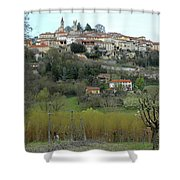 The Village And The Countryside Shower Curtain