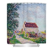 The Village Of Sablons Shower Curtain