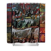The Village On A Hill Shower Curtain