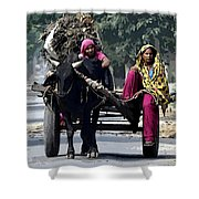 The Village Women  Shower Curtain