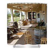 The Vineyards Shower Curtain