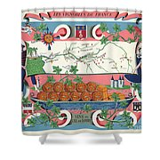 The Vineyards Of France Shower Curtain