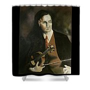 The Violinist John Murray Shower Curtain