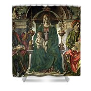 The Virgin And Saints Shower Curtain