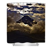 The Volcano Shower Curtain