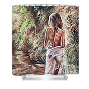 The Wader Shower Curtain