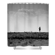 The Walk Or Sniff ? Shower Curtain