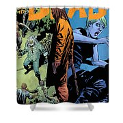 The Walking Dead - Now Or Never Shower Curtain