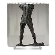 The Walking Man (l'homme Qui Marche) Shower Curtain