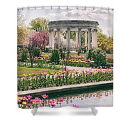 The Walled Garden Shower Curtain