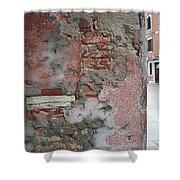The Walls Of Venice Shower Curtain