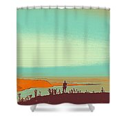 The Wandering Youth 4 Shower Curtain
