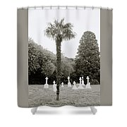 The War Cemetery Shower Curtain
