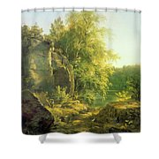 The Warmth Of The Sun Shower Curtain