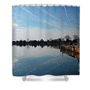 The Washington D.c. Basin Shower Curtain
