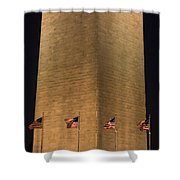 The Washington Monument In Washington Shower Curtain