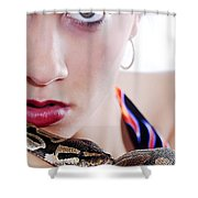 The Watcher Vi Shower Curtain