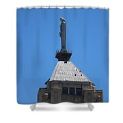 The Watchers Chicago Illinois Architecture Shower Curtain