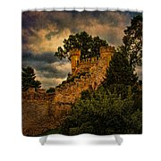 The Watchtowers Shower Curtain