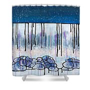 The Water And The Fall Shower Curtain