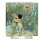 The Water-babies Shower Curtain