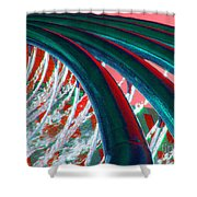 The Water Force Shower Curtain
