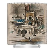 The Water Gate Shower Curtain