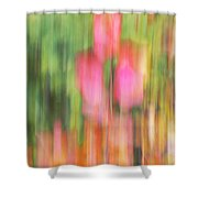 The Watercolor Garden Shower Curtain