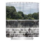 The Waterfall - Harrisville Shower Curtain