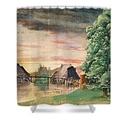 The Watermill Shower Curtain